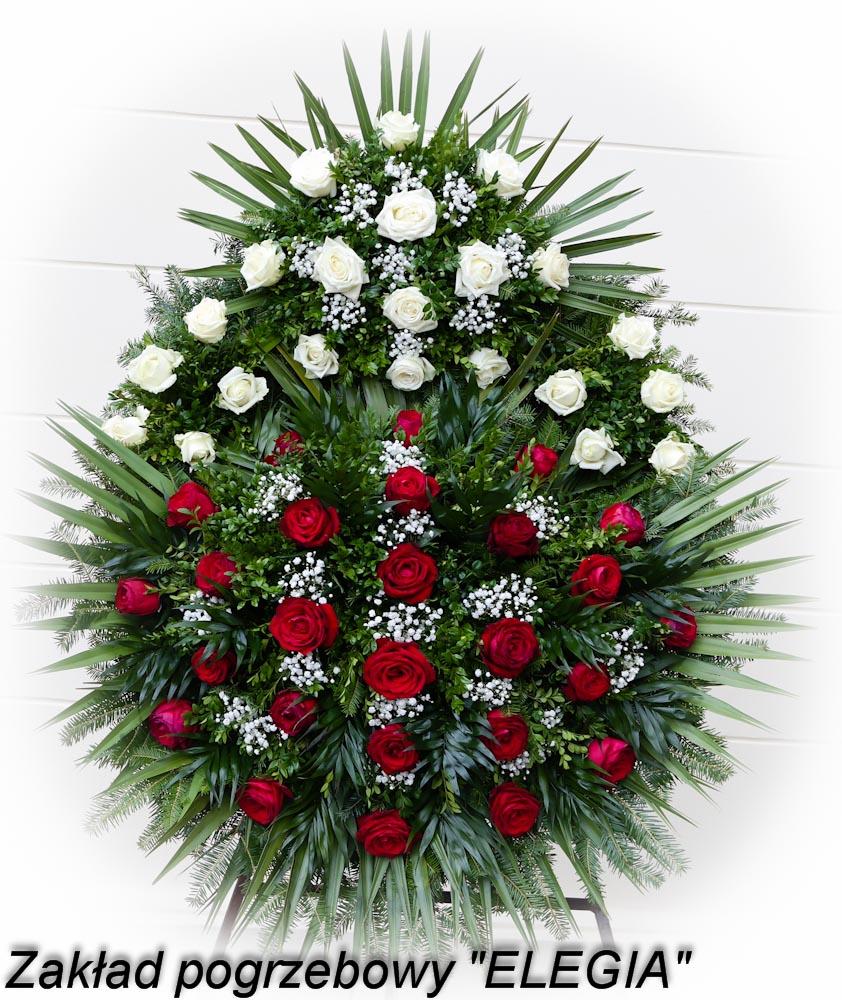 Wieniec pogrzebowy do pogrzebu w warszawie na bródnie