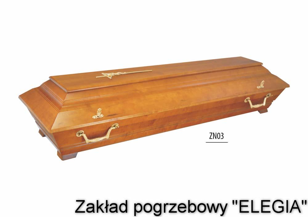 Trumna w zakład pogrzebowy elegia w warszawie