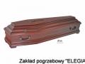 Trumna pogrzebowa w modelu ZB I zakład usług pogrzebowych elegia