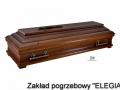 Elegancka trumna ZBII i inne artykuły krzyż i usługi pogrzebowe