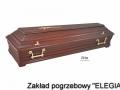 trumna pogrzebowa w asortymencie zakładu pogrzebowego elegia