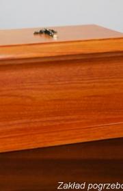 Urna pogrzebowa k3 bok w zakładzie pogrzebowym elegia warszawa