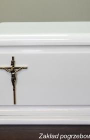 Skórzana urna do kremacji w warszawie w usługach pogrzebowych