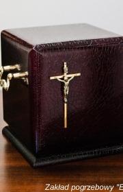 Urna pogrzebowa kw7 bok w zakładzie pogrzebowym w warszawie