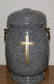 Kamienna urna pogrzebowa g2 do pogrzebów warszawie