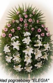 Wieniec wykonany przez elegia usługi pogrzebowe w warszawie