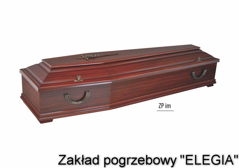 Ciemna trumna dla zakładu pogrzebowego w warszawie