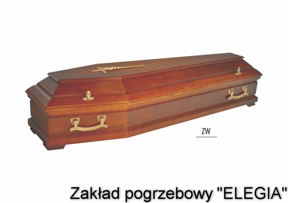 Model ZW - trumna pogrzebowa dla zakład pogrzebowy elegia