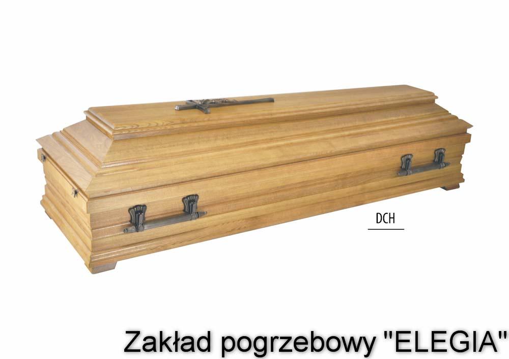 Zdobiona jasna trumna na pogrzeb w warszawie i inne usługi pogrzebowe