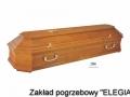 Jasna trumna pogrzebowa z akcesoriami pogrzebowymi do warszawy