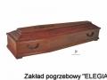 Trumna model ZP dla zakładu pogrzebowego Elegia warszawa