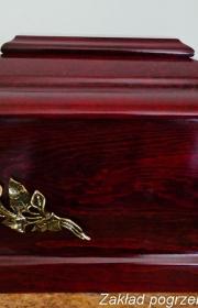 Urna pogrzebowa w warszawie w zakładzie pogrzebowym elegia