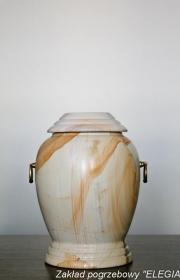Urna z jasnego granitu g6 dobra do kremacji w warszawie