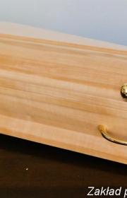 Mała urna pogrzebowa profil bok w zakładzie pogrzebowym warszawa